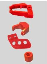 1986/1987 Honda TRX 250R Aftermarket Swingarm New Design Chain Guide Kit